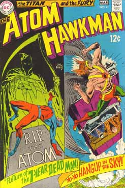 The Atom and Hawkman #41