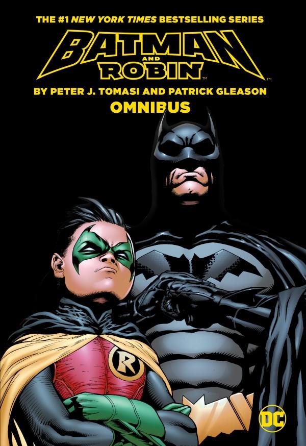 Batman and Robin By Peter J. Tomasi & Patrick Gleason Omnibus HC