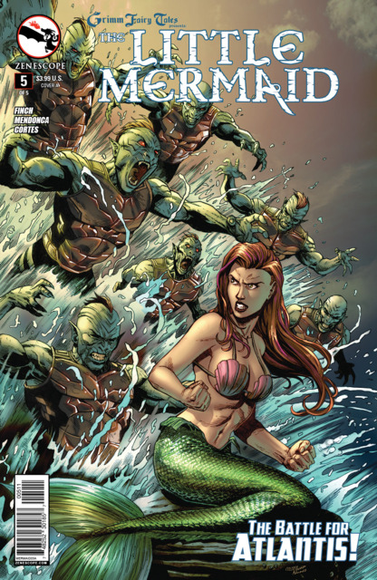 Grimm Fairy Tales Presents The Little Mermaid #5