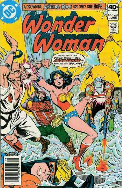 Wonder Woman #268