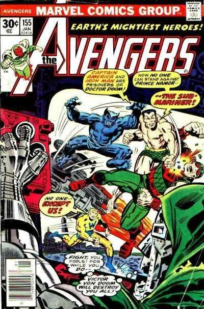 The Avengers #155
