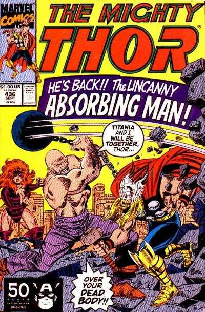 The Mighty Thor #436