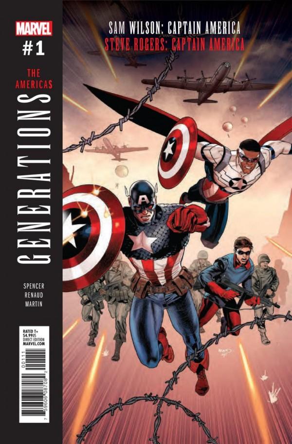 Generations: Captain Americas #1