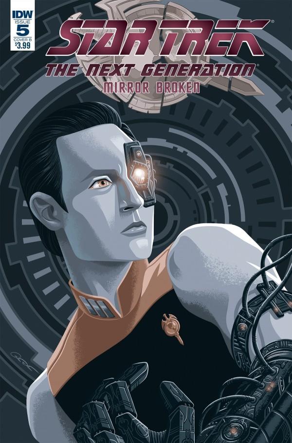 Star Trek: The Next Generation - Mirror Broken #5