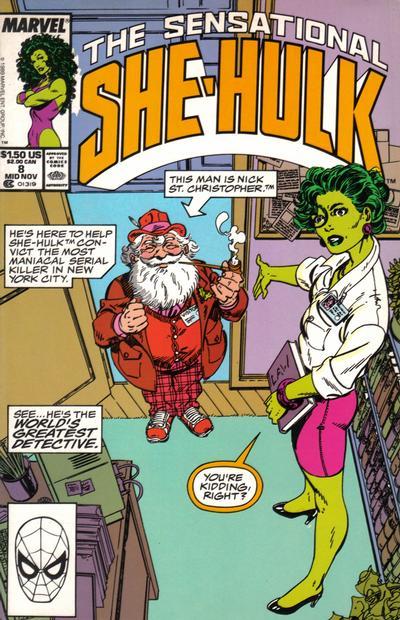 The Sensational She-Hulk #8