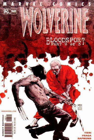 Wolverine #168