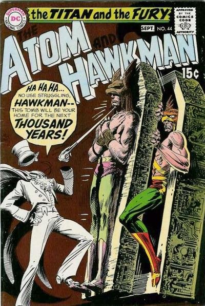 The Atom and Hawkman #44
