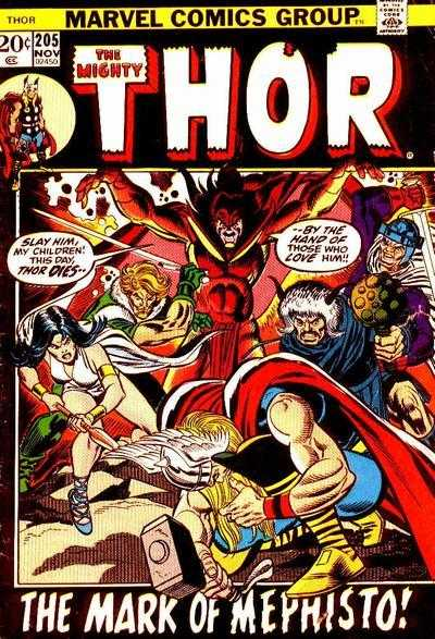 The Mighty Thor #205
