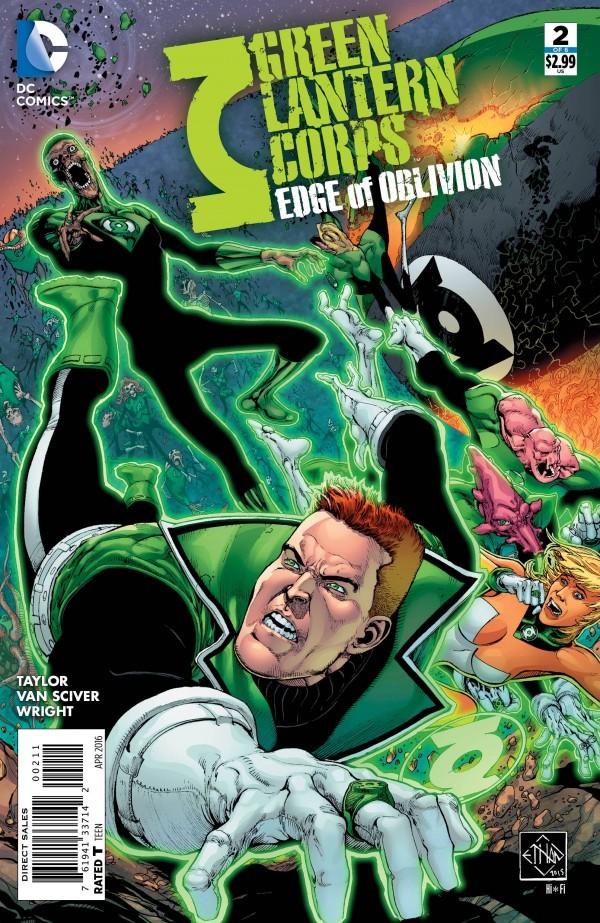 Green Lantern Corps: Edge of Oblivion #2