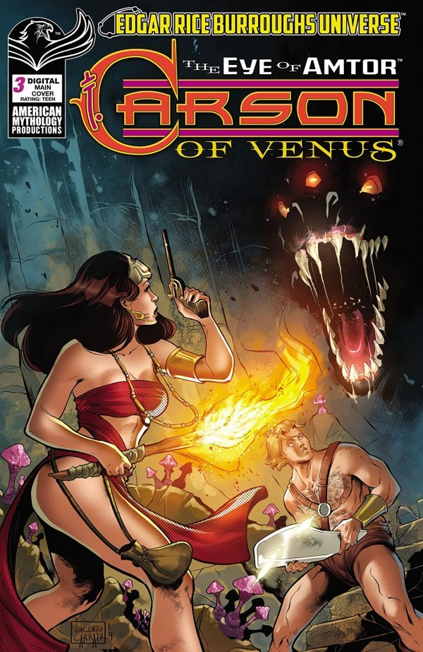Carson Of Venus: The Eye Of Amtor #3
