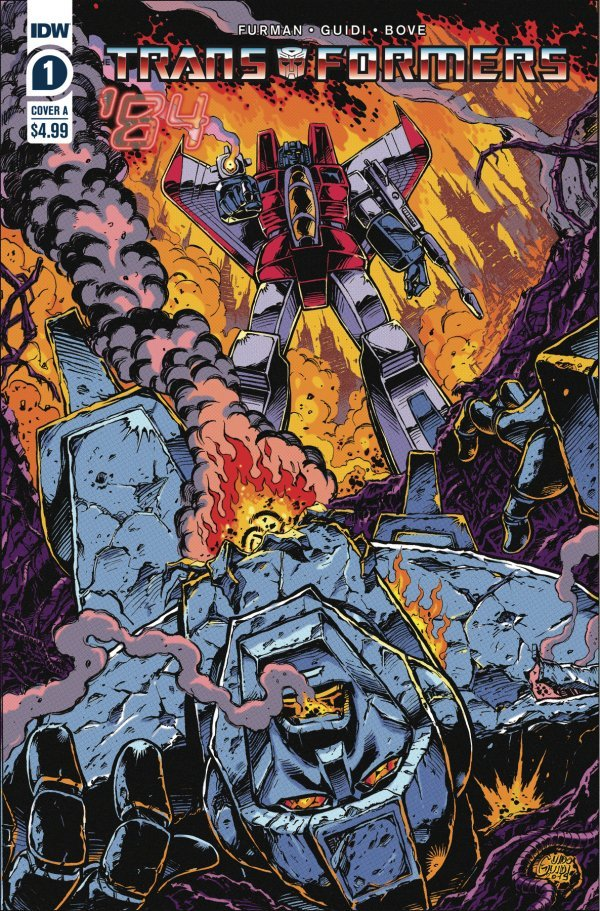 Transformers '84: Secrets and Lies #1