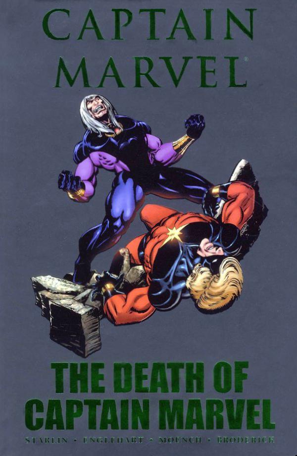 Captain Marvel: The Death of Captain Marvel HC