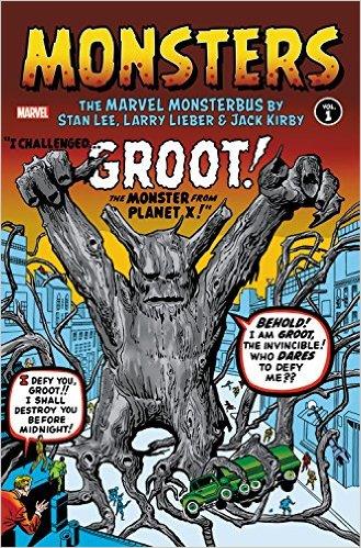 Monsters Vol. 1: Marvel Monsterbus By Lee Lieber Kirby HC