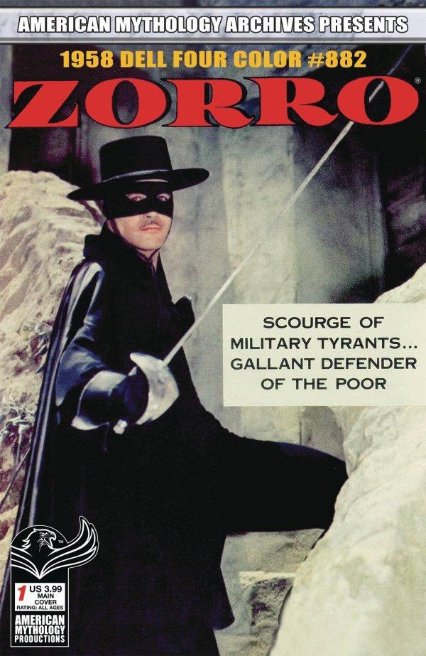 Am Archives Zorro: 1958 Dell Four Color #882 #1