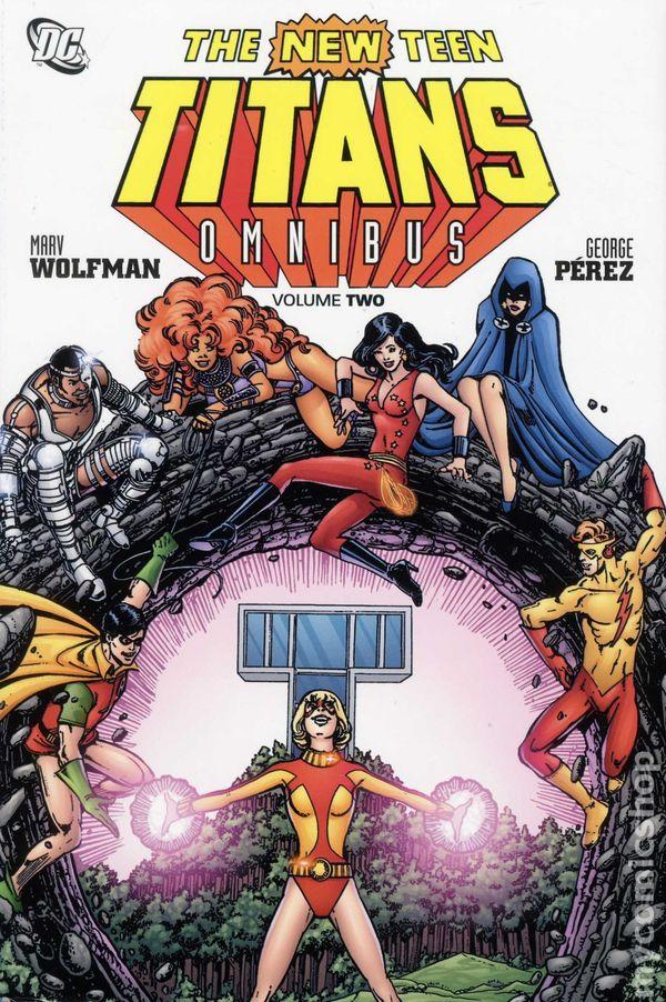 The New Teen Titans Omnibus Vol. 2 HC