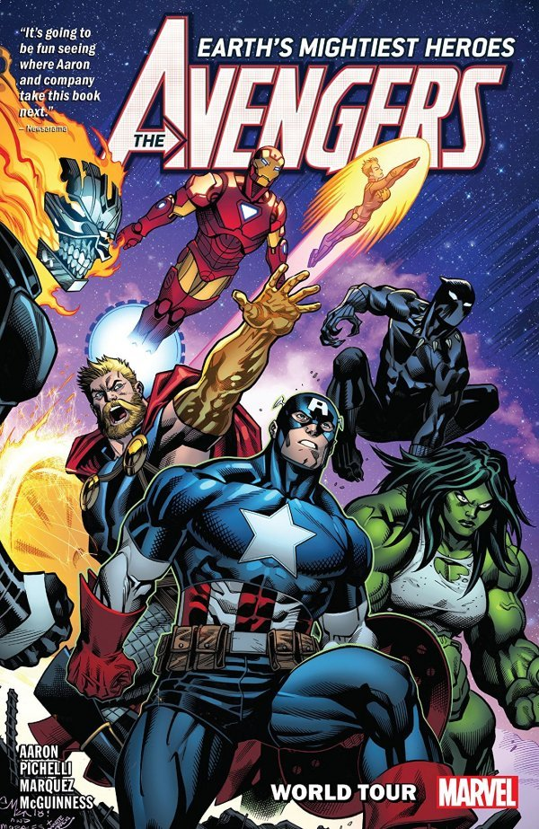 The Avengers Vol. 2: World Tour TP