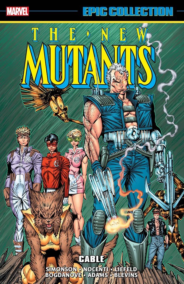 The New Mutants Epic Collection: Cable TP