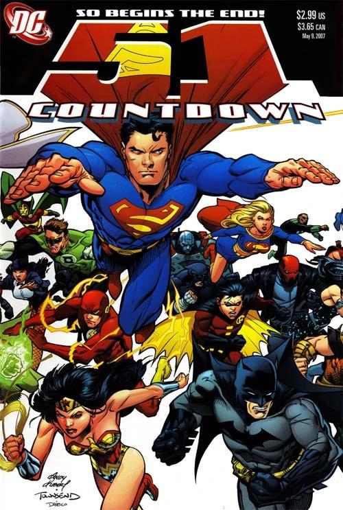 Countdown to Final Crisis #51