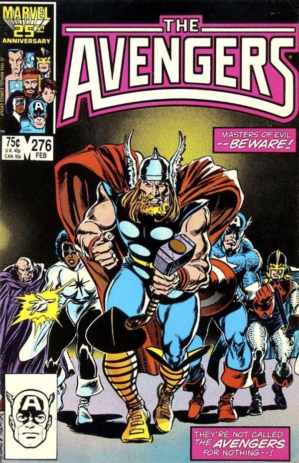 The Avengers #276