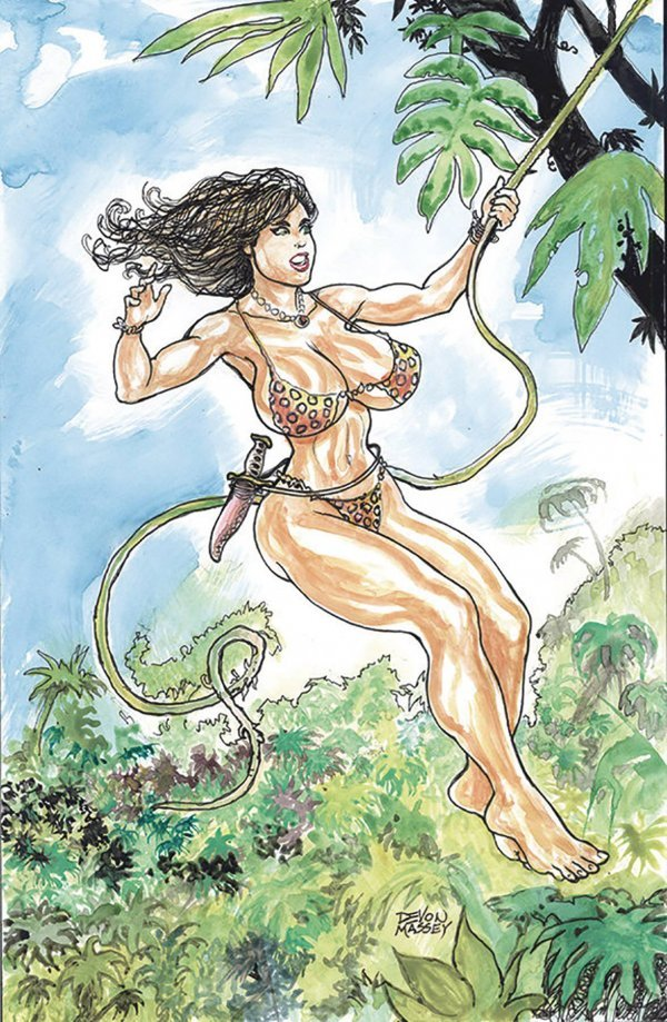 Cavewoman: Double Feature #1