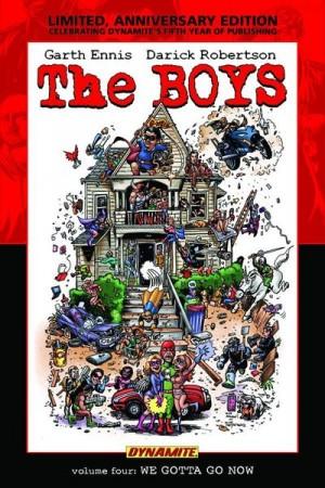 The Boys Vol. 4: We Gotta Go Now Limited Edition HC