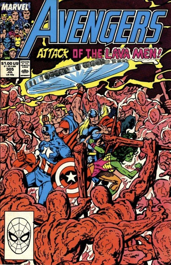 The Avengers #305
