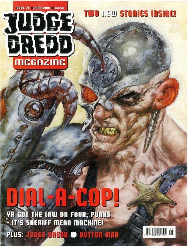 Judge Dredd Megazine #75