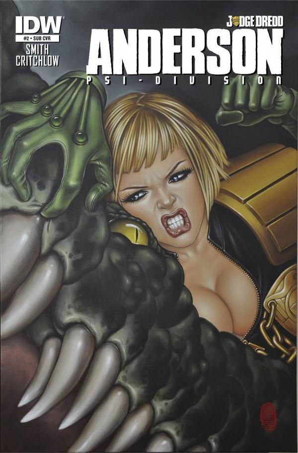 Judge Dredd: Anderson, Psi Division #2