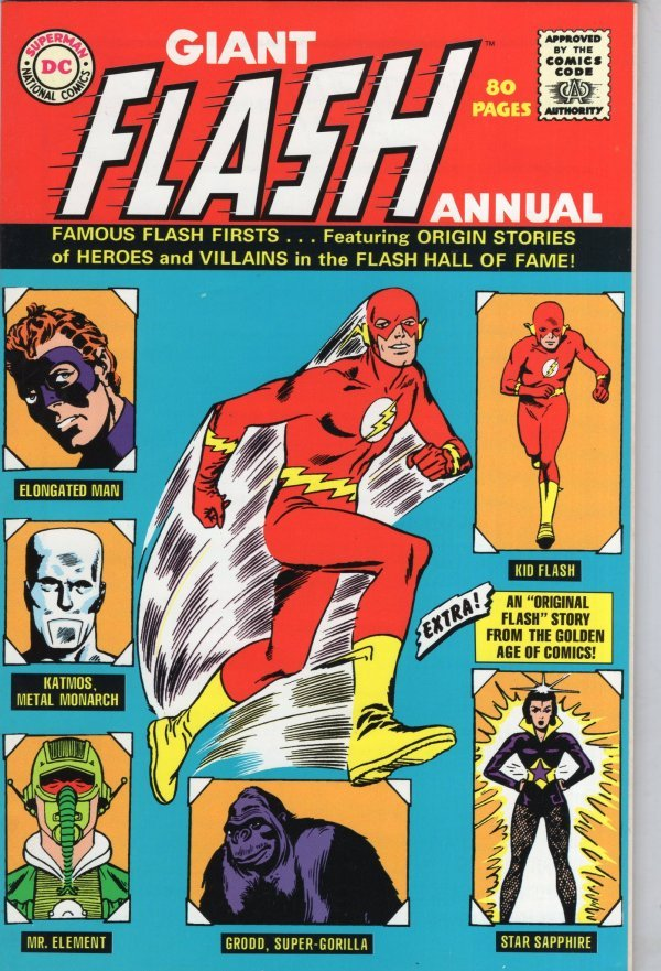 The Flash Annual #1 Giant Size