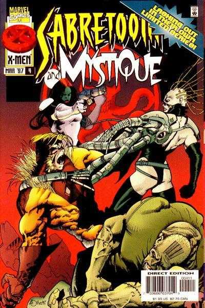Sabretooth and Mystique #4