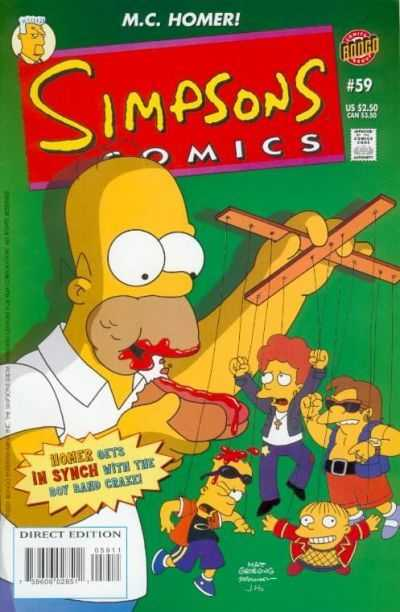 Simpsons Comics #59