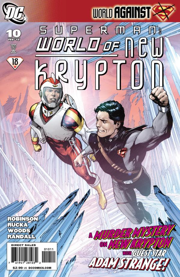 Superman: World of New Krypton #10