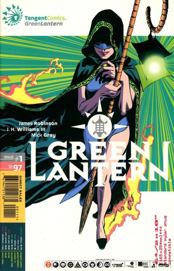 Tangent Comics: Green Lantern #1