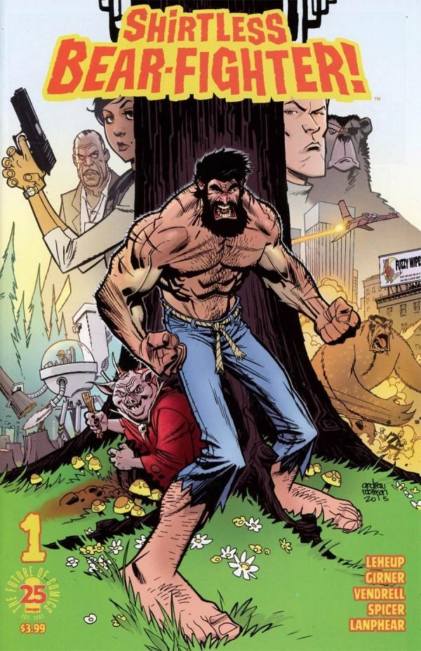 Shirtless Bear-Fighter! #1