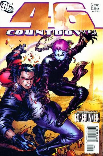 Countdown to Final Crisis #46