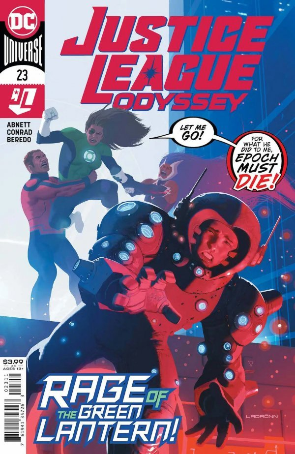 Justice League Odyssey #23