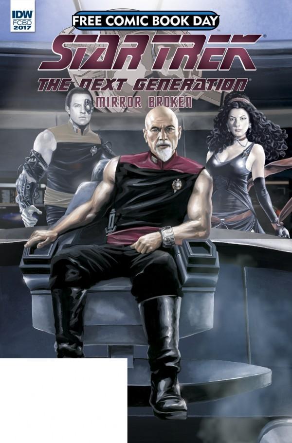 Star Trek: The Next Generation - Mirror Broken: Free Comic Book Day 2017