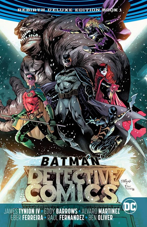 Detective Comics: The Rebirth Deluxe Edition Book One HC