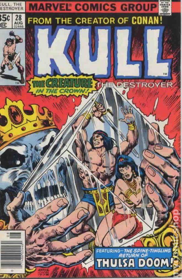 Kull The Destroyer #28