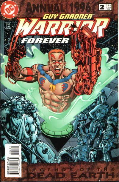 Guy Gardner: Warrior Annual #2