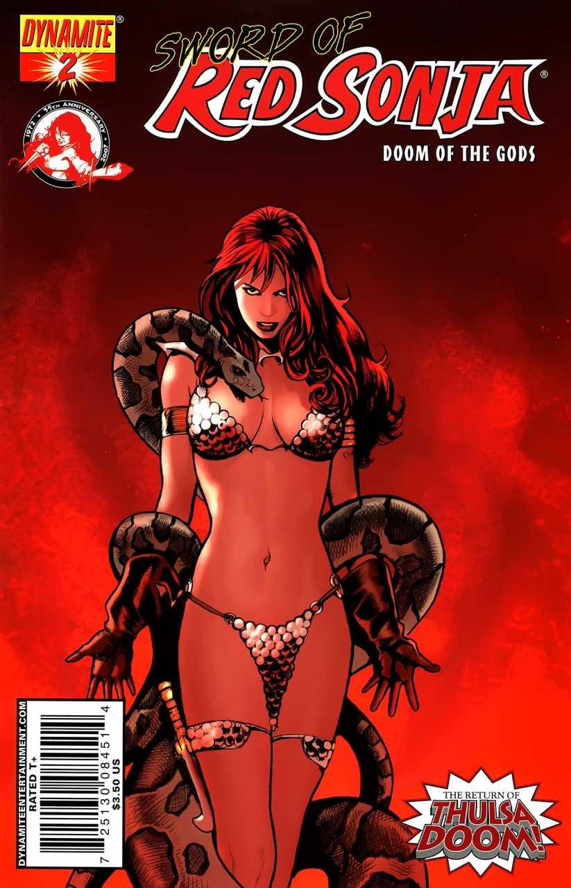 Sword of Red Sonja: Doom of the Gods #2