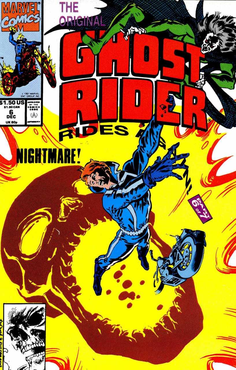 The Original Ghost Rider Rides Again #6