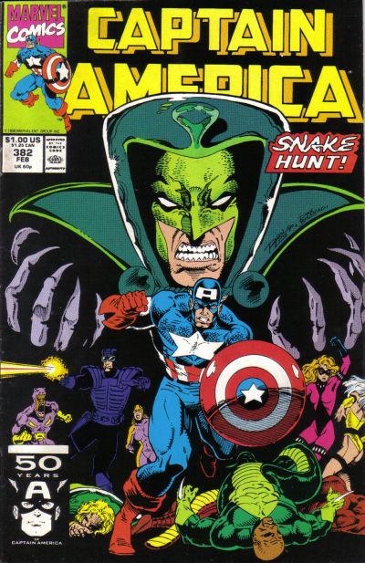 Captain America #382