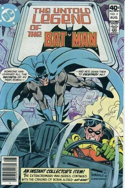 The Untold Legend of the Batman #2
