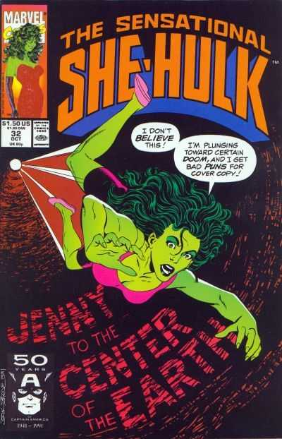 The Sensational She-Hulk #32