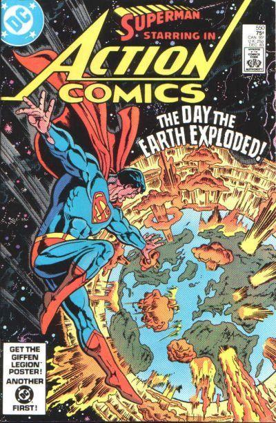 Action Comics #550