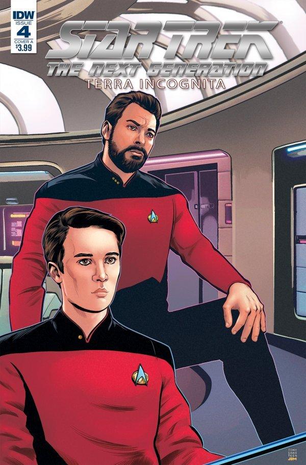 Star Trek: The Next Generation - Terra Incognita #4