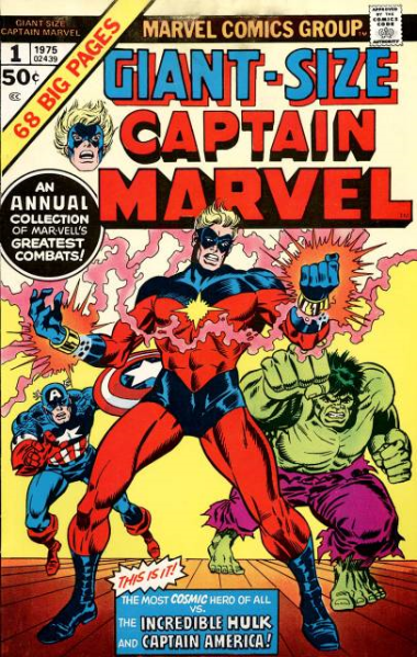 Giant-Size Captain Marvel #1