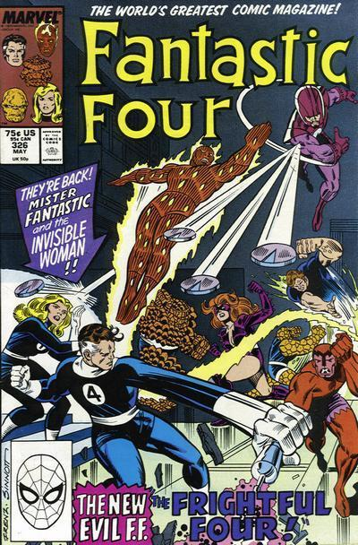 Fantastic Four #326