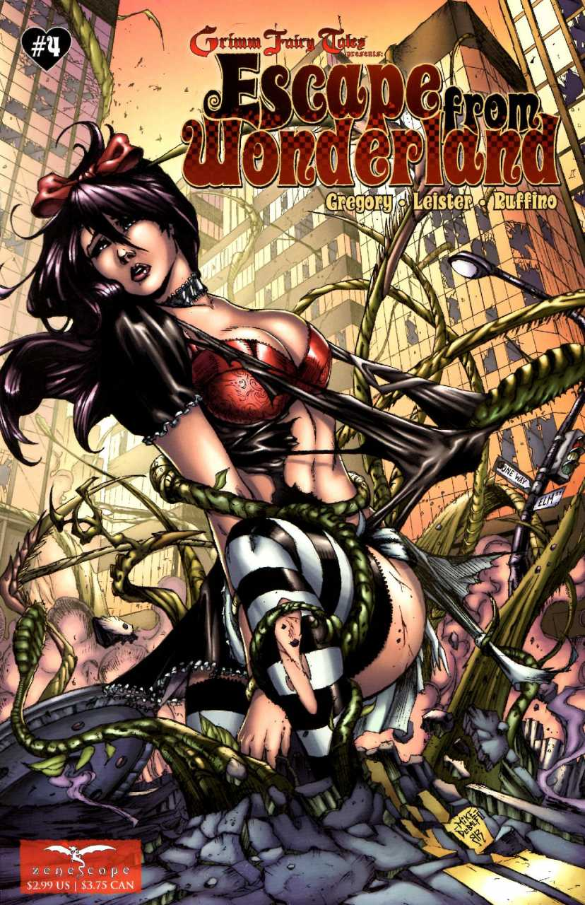 Grimm Fairy Tales Presents Escape from Wonderland #4